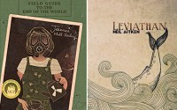 Covers for Field Guide to the End of the World and Leviathan
