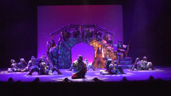 The Hobbit onstage