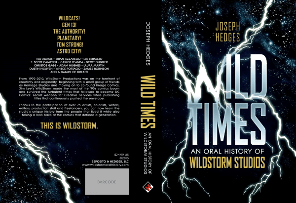 The cover of Wild Times by Joseph Hedges