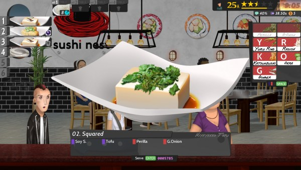 An example of the in-game food