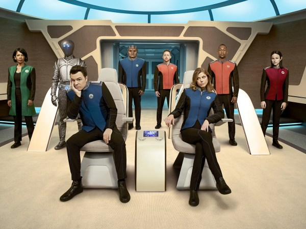 The Orville group shot
