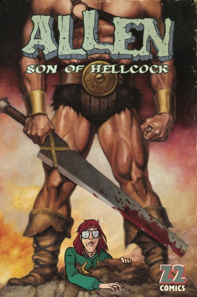 Cover art of Allen, Son of Hellcock, Z2 Comics