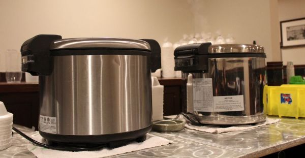 Two rice cookers