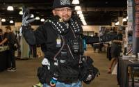 The author, Tom, in a picture in his Cosplay Repair Outfit at a local convention.