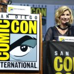 Jodie Whittaker speaks at at SDCC 2018
