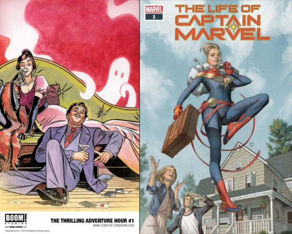 Covers of this week's titles