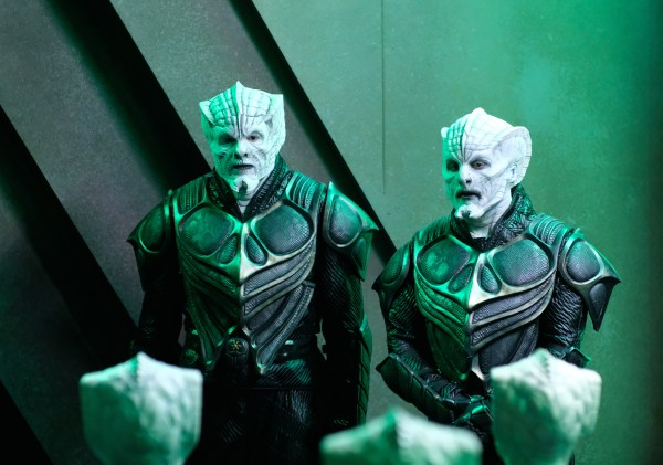 The Krill, an example of the alien prosthetics in The Orville
