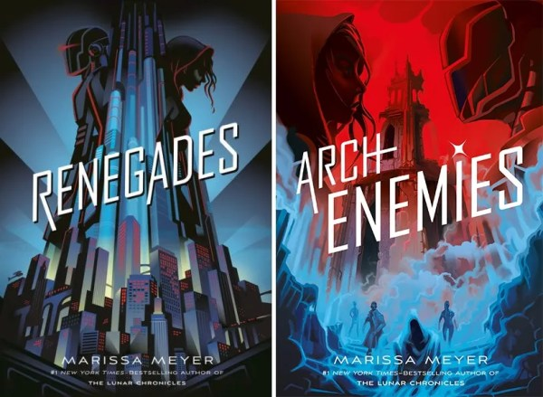 Renegades and Archenemies covers