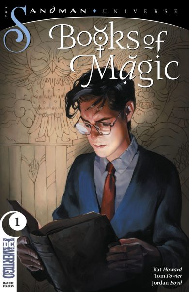 Books of Magic cover