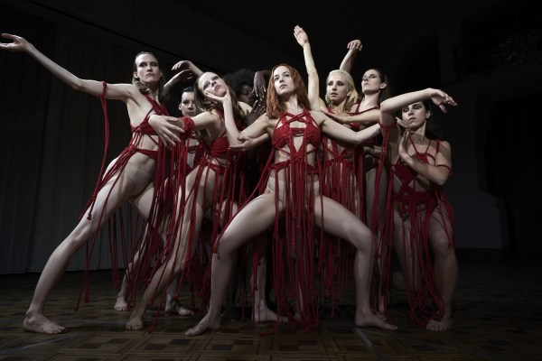 The red ribboned dance performance
