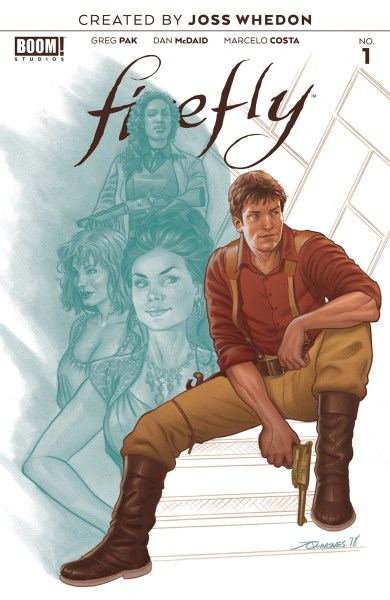 Firefly #1 cover
