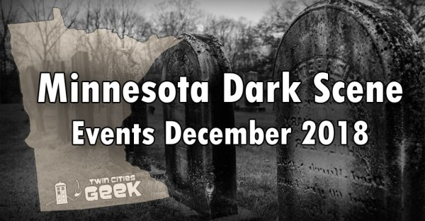 Minnesota Dark Scene banner for December 2018