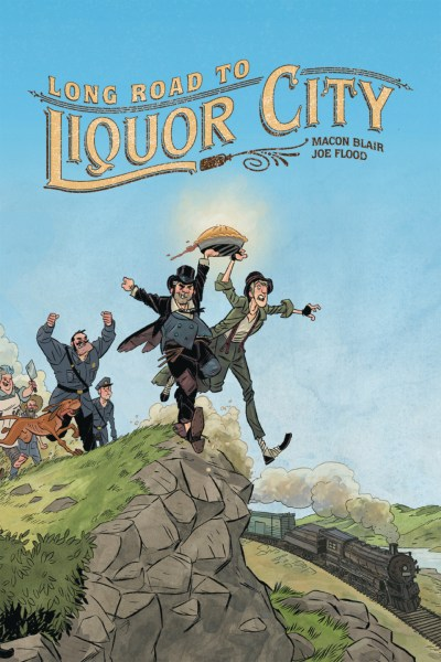 Cover of Long Road to Liquor City by Oni Press