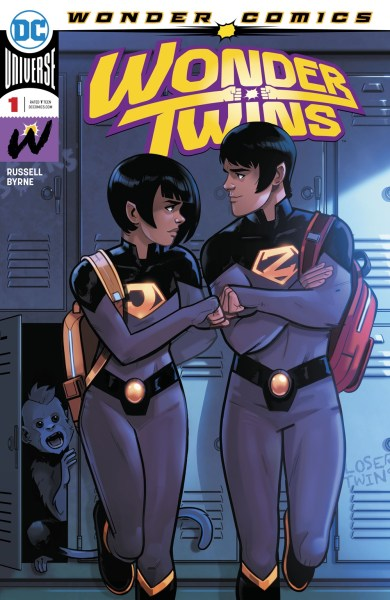 Wonder Twins cover