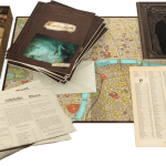 Sherlock holmes consulting detective game box booklets map