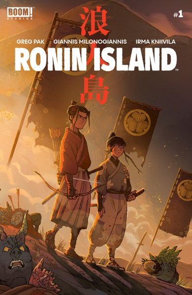 Ronin Island cover
