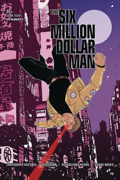The Six Million Dollar Man cover