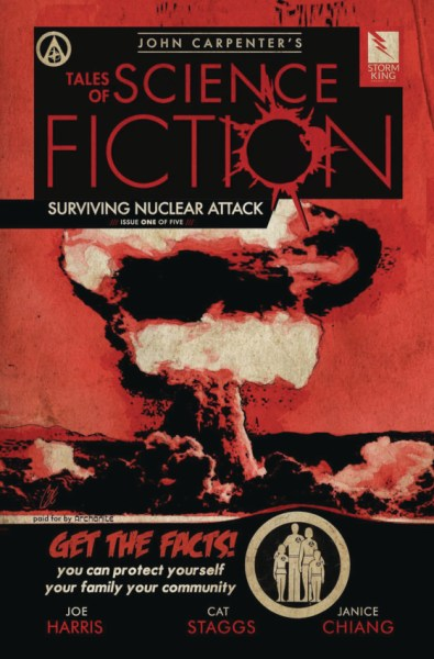 Cover of John Carpenter's Tales of Science Fiction: Surviving Nuclear Attack