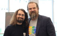 Mark McPherson and David Harbour
