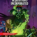 Cover of the Acquisitions Incorporated worldbook