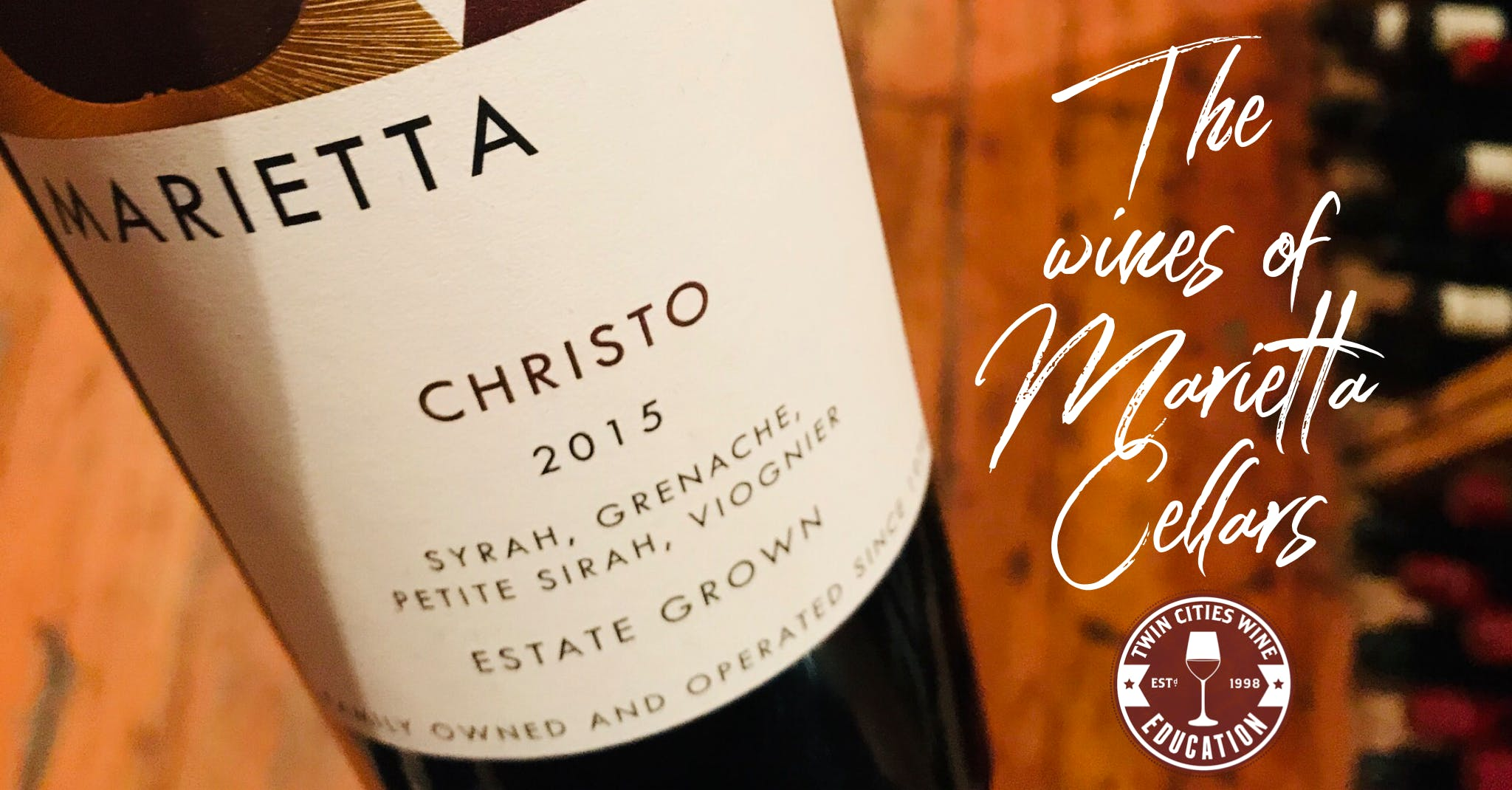 The Wines Of Marietta Cellars Twin Cities Wine