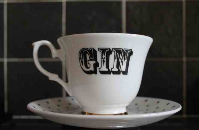 gin tea cup