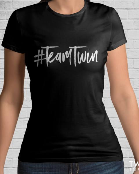 team twin tee black