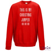 this is my jumper red