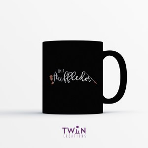 Huffledor Mug Black Satin