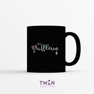 Hufflerin Mug Black Satin