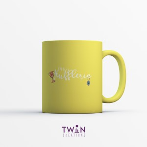 Hufflerin Mug Yellow Satin