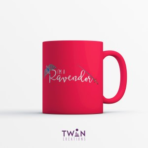 Ravendor Mug Red Satin