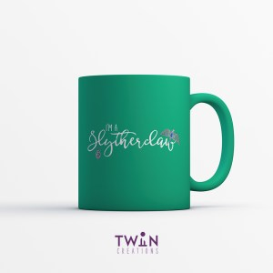 Slytherclaw Mug Green Satin