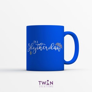 Slytherclaw Mug Blue Satin