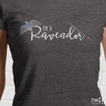 Ravendor T Shirt Close Up Image
