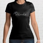 Ravendor Ladies T Shirt Black