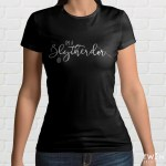 Slytherdor Ladies T Shirt Black