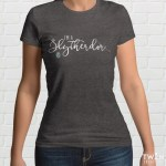 Slytherdor Ladies T Shirt Grey