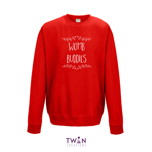 Womb Buddies Red Jumper