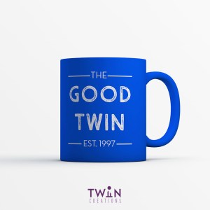 The Good Twin Mug Blue