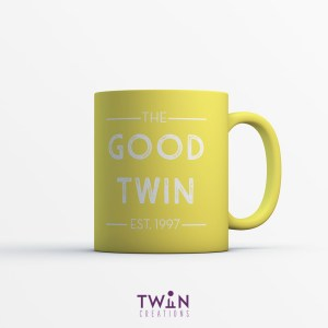 The Good Twin Mug Yellow
