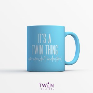 It's A Twin Thing Mug Sky