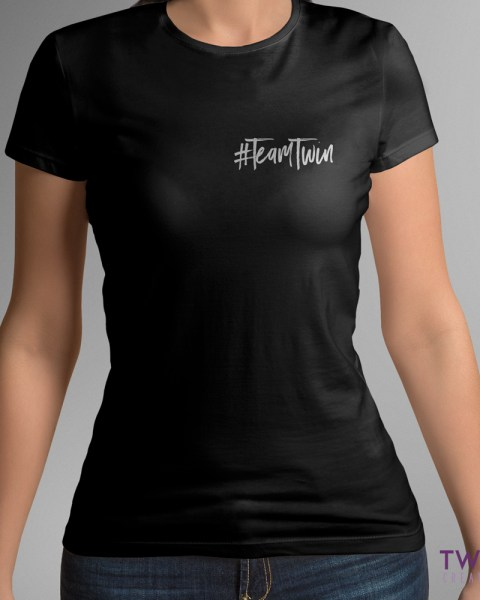team twin sm ladies black