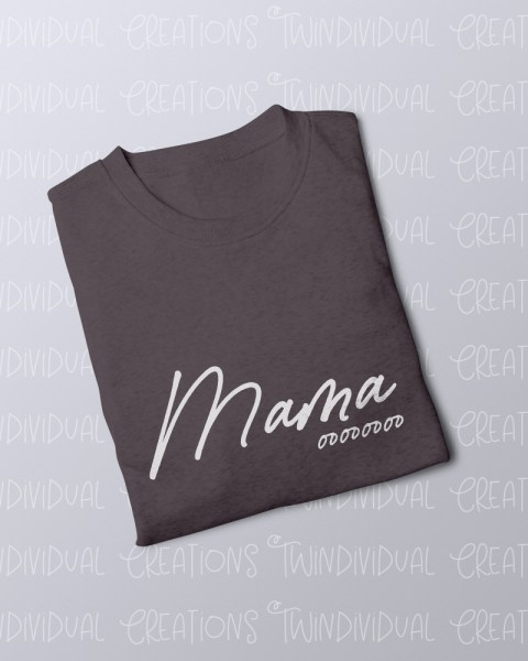 TC FOLDED JUMPER Mama ooo grey