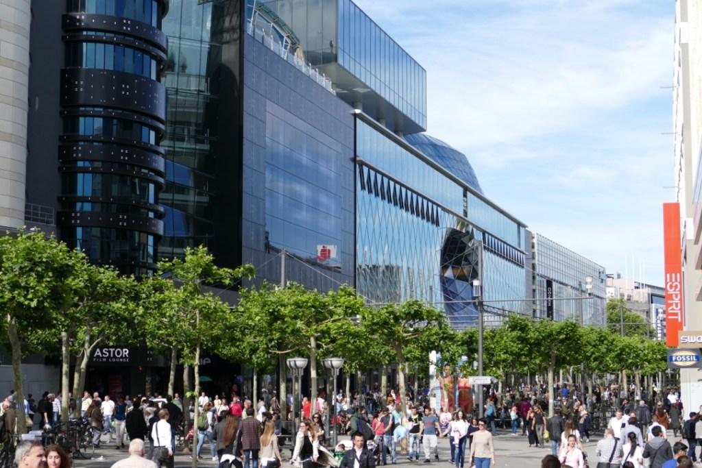 The main shopping street - Zeil