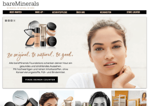Bare Minerals Glamour Shopping Week