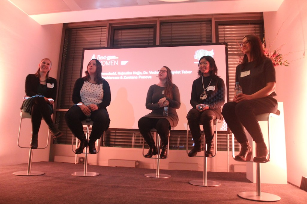 Astrid on Women in Data Science Panel