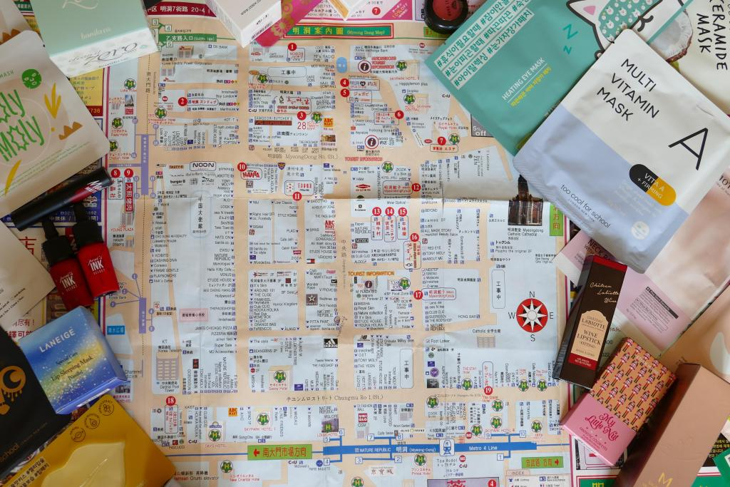 where to shop for beauty in Seoul