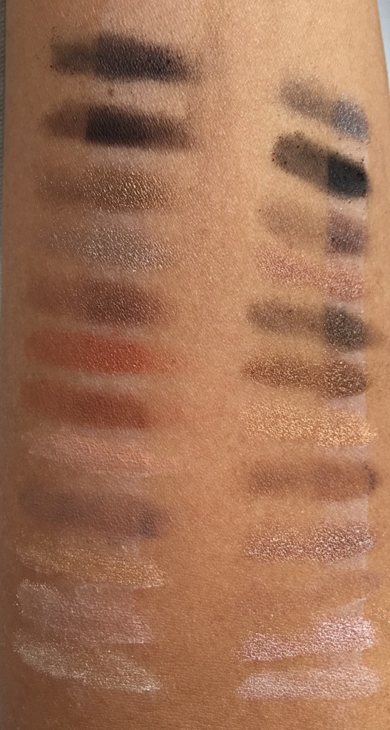 NARS Loaded Eyeshadow vs Urban Decay Naked Palette Swatch