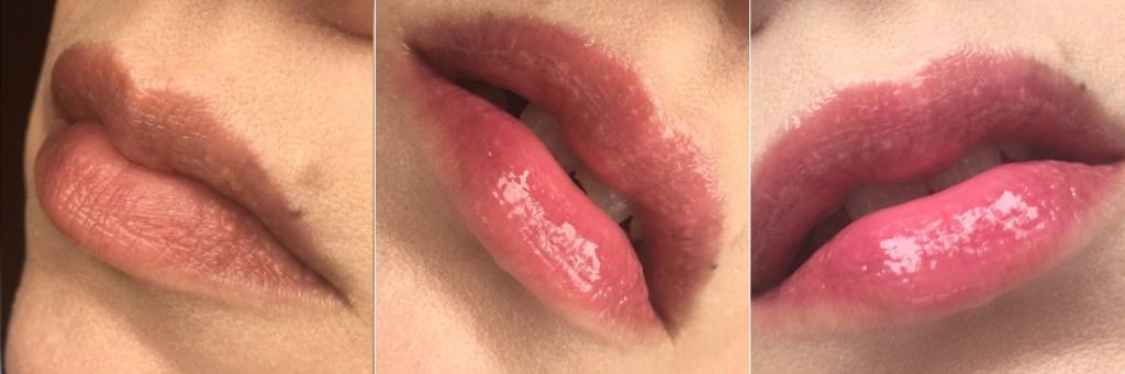MAC La La Love You lip swatch